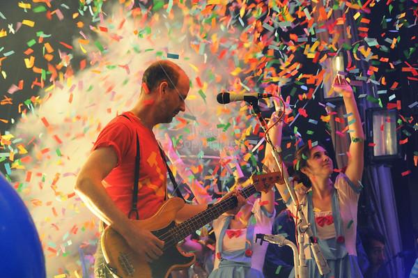 Michael Ivins, Flaming Lips Freakout 5. Night 2. January 1, 2012. Oklahoma City, Oklahoma.