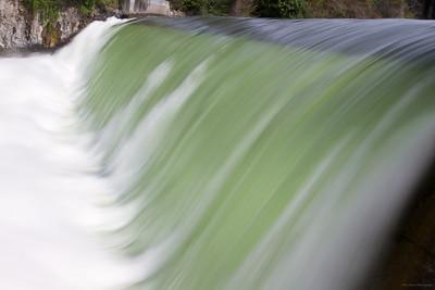 Spokane Falls in the Spring