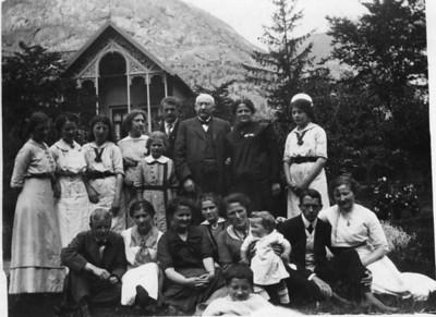 Familiebilder Lindstrøm - gamle