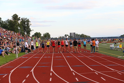 Start, 400, 800, 1200 & Finish - 2013 Running Institute Mile