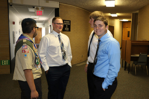 Gering Graduation -- Pre and Post