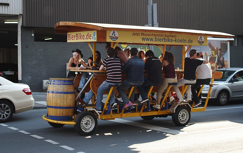 Beer bus, Cologne