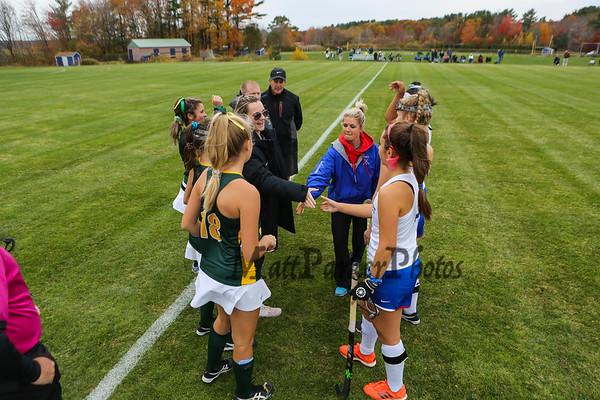 2019-10-25 WHS Girls Field Hockey vs BG Qtrs.