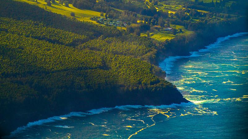Coastline of Big Island, Hawaii