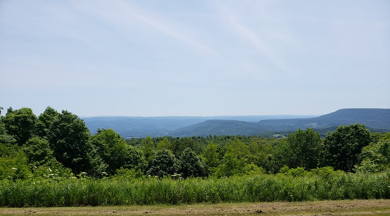 View from the Route 150 Highlands Scenic Highway