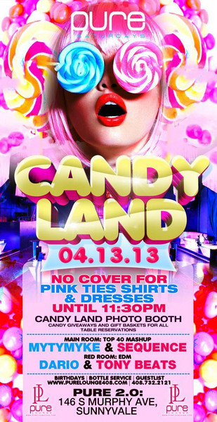 04/13 [Candy Land@Pure Lounge]