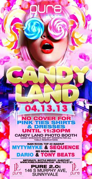 04/13 [Candy Land@Pure Lounge]