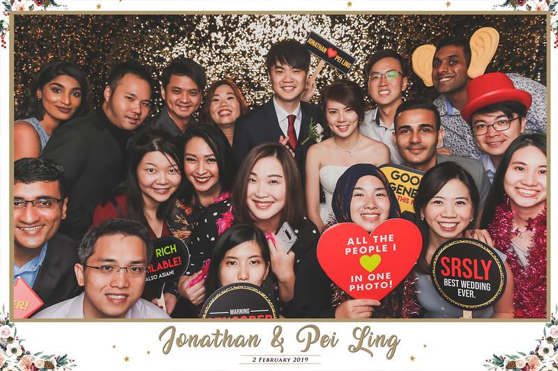 Wedding of Jonathan & Pei Ling   © www.SRSLYPhotobooth.sg