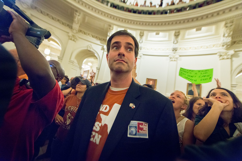 SB5 (Abortion Bill) Protest at the Texas State Capitol