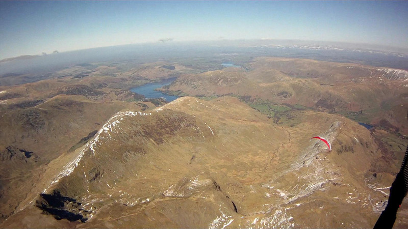 High Hartsopp Dodd with Ullswater in distance.