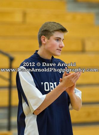 1/18/2012 - Boys Varsity Basketball - Nobles