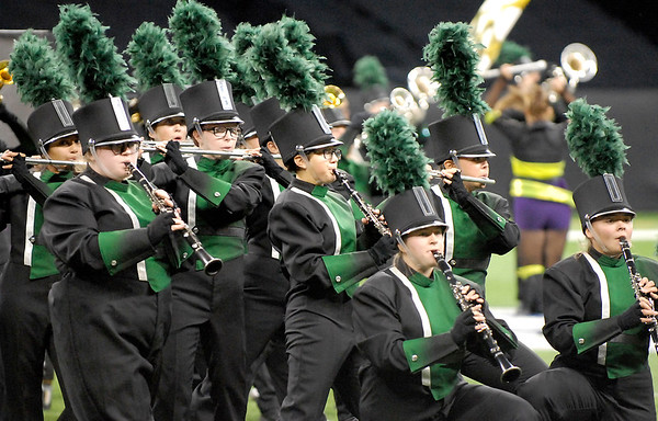 Marching Arabians place tenth in ISSMA state finals