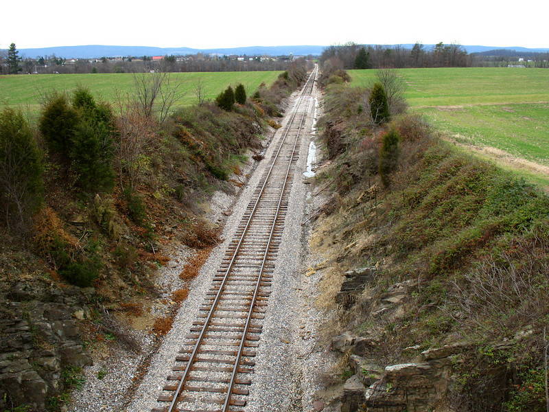 Gettysburg - The Railroad Cut (ca. 2006)