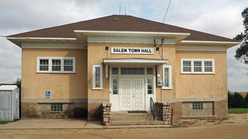 Salem Township Hall in Salem Corners