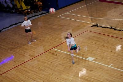 2010-06-25 Allie Practices Volleyball