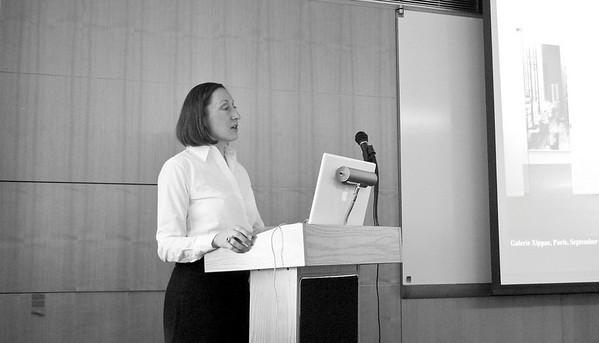 Vera Lutter at Deutsches Haus at NYU October 2009