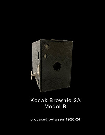 Kodak Brownie 2A Model B