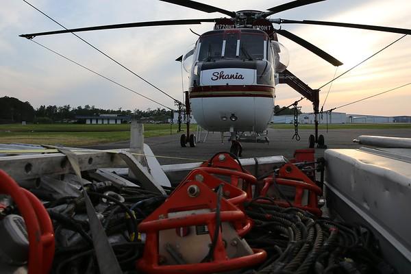 "Helicopter Transport Services 1969 Sikorsky CH-54B ""Tarhe"", Norfolk, 06Jun20"