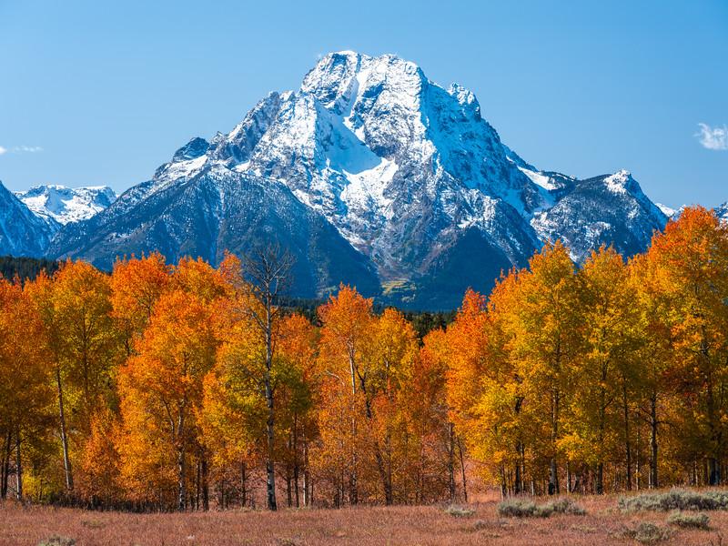 Autumn Peaks: Grand Tetons National Park Fine Art Landscape Photography  Dr. Elliot McGucken Fine Art Landscape Nature Photography Fuji GFX100 Fine Art