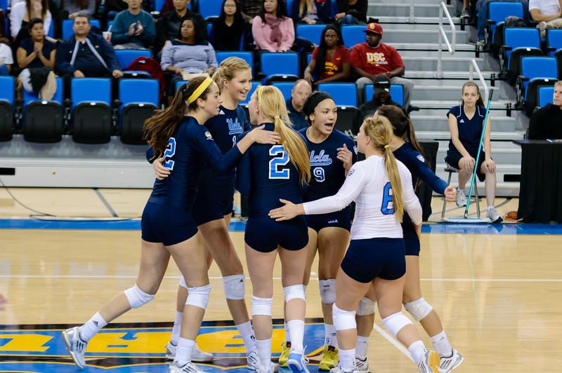 UCLA Women's Volleyball vs. USC @ Pauley Pavilion
