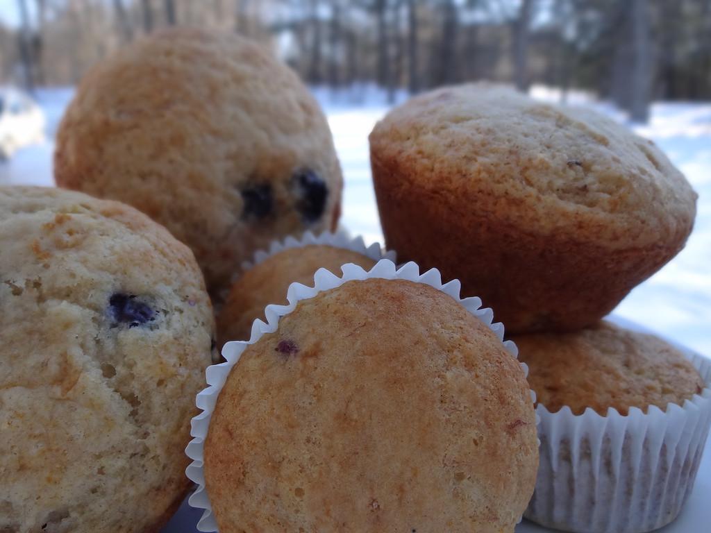 . Blueberry-Orange Muffins/Photos by Vicki Arsenault