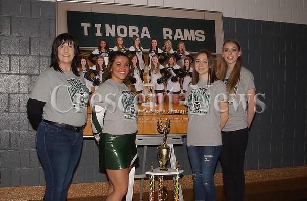 01-30-16 NEWS Tinora Cheerleaders State Champs