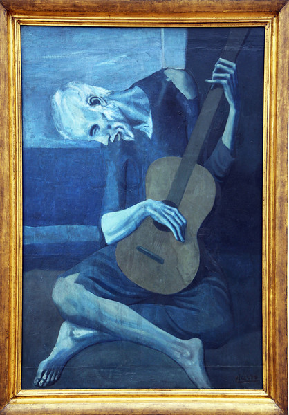 "Picasso's ""The Old Guitarist"""