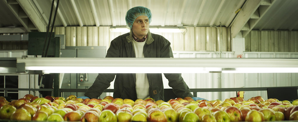 ". C.O.G.: (U.S. Dramatic) Fans of humorist and author David Sedaris will want to see this movie, the first adaptation from one of his pieces. Jonathan Groff (""Glee\"") stars as a man who finds work on an Oregon apple farm."