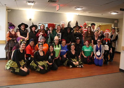 Halloween Party at Crescent Manor nursing home. 103118