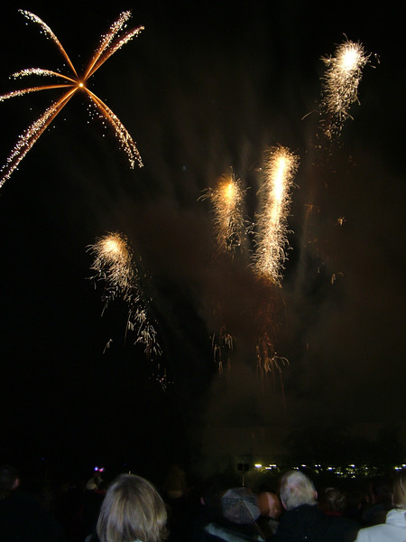 Bishop's Park Fireworks, London, 2006