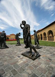 Rodin sculptures