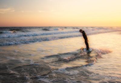 Having Fun at the Beach - Yaupon Beach-Oak Island, NC