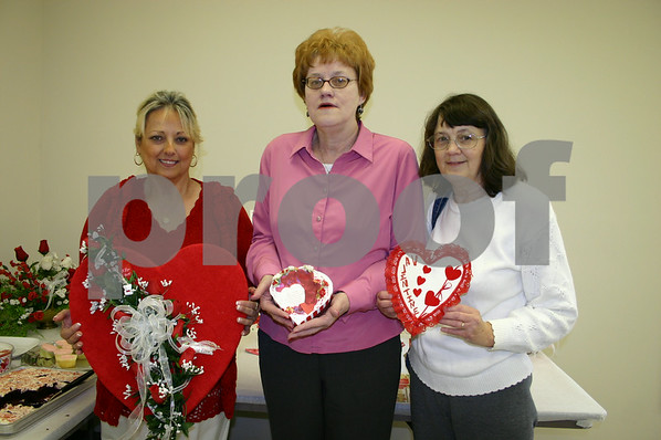 Valentine's Day Party at Senior Center - February 2006