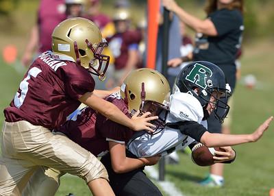 9-20-14 Boro JV Red vs. Ridge JV Blue