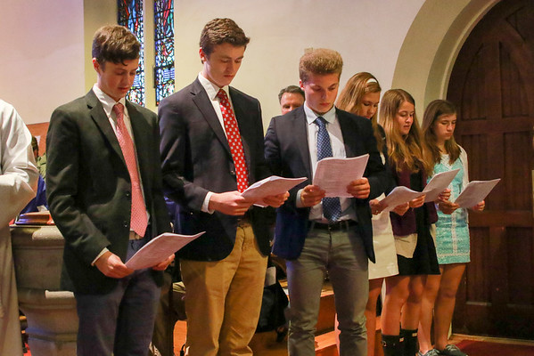 Confirmation at the Chapel of the Holy Cross | May 2nd