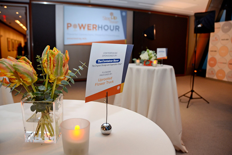 """NEW YORK, NEW YORK - OCTOBER 28: Step Up presents """"Power Hour"""" at the Hearst Tower on October 28, 2015 in New York City. (Photo by Lukas Maverick Greyson)"""