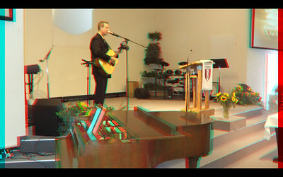 Adults in Stereo Anaglyph, July  to December   of 2014