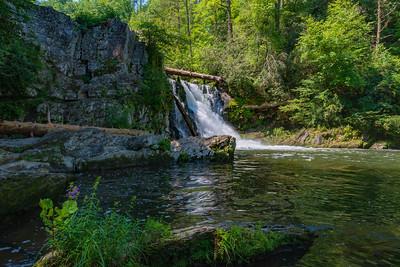 Abrams Falls Cades Cove, TN