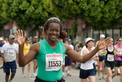 Running the marathon