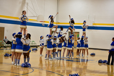 12/10 Cheerleaders Basketball GV vs Wilson