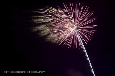 Ayer, MA Fire Works 2013