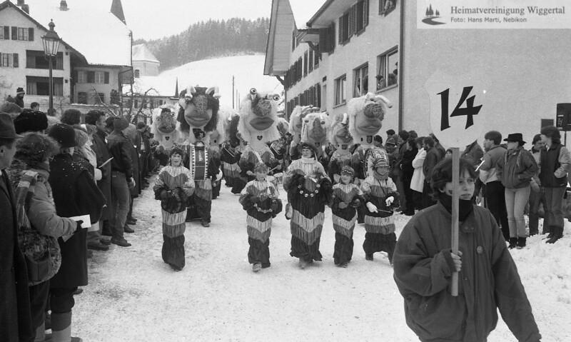 Fasnacht Altishofen 1985