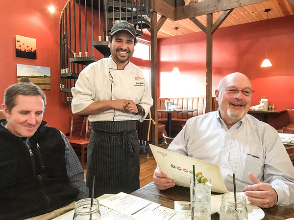 Dine with the Chefs Committee Dinner at The Farmhouse in Fair Oaks