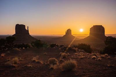 Monument Valley and Saguaro