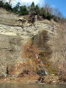 Cattaraugus Creek, New York State, Oct 2010