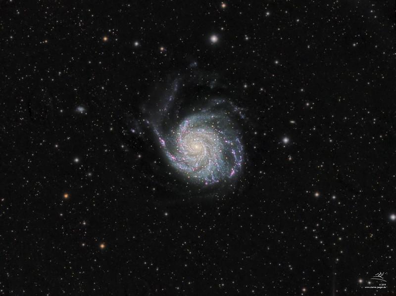 M101 Feuerrad-Galaxie