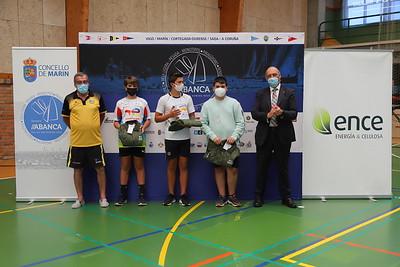 Reparto de premios del Campeonato Ence-Concello de Marín de Remo Ergómetro Escolar