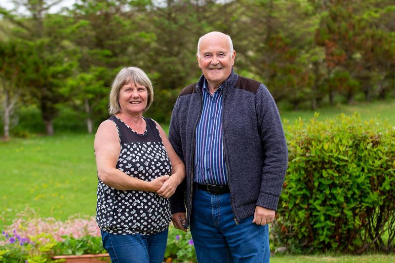 George & Sheila