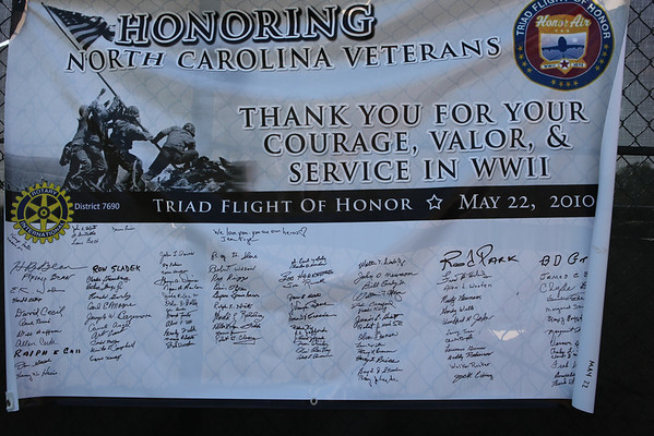 Triad Flight of Honor Reunion  Winston Salem Dash Baseball, May 30, 2011
