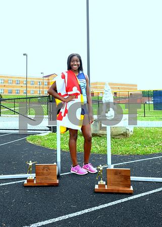 2014-15 Clarksburg Girls Track Indoor/Outdoor State Champions